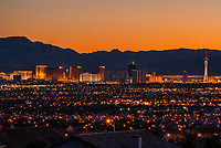 Vegas Valley Sunset