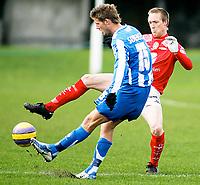 Fotball , Treningskamp , 27. Februar 2008 , Odense - Brann ,  Bjørn Dahl Brann , Chris Sørensen Odense , Foto: Thomas Andersen , Digitalsport