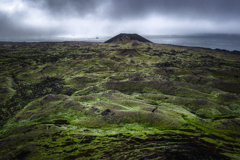 Volcanic landscape of Jan Mayen