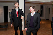 ROBERT BROOKS;- HENRY MACE, Bonhams Auction house hosts festive drinks to preview the first phase of the reconstruction of its Mayfair Headquarters - due for completion in 2013.<br /> Bonhams, 101 New Bond Street, London, 19 December 2011.