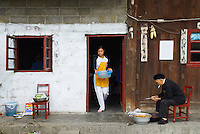Chine. Province du Guizhou. Village d ethnie Buyi de Qinghe. // China. Guizhou province. Village of Qinghe, Buyi ethnic group.