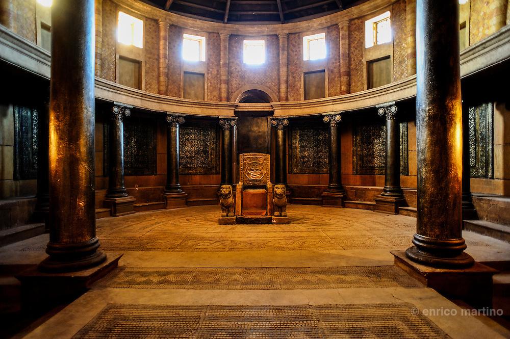 Cinema Museum. The Hall of Throne often utilised as Roman Senate.
