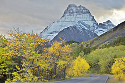 Grinnel Peak,  Autumn, Fall Colors, Glacier National Park