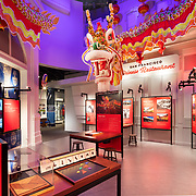 Image of Gold Mountain exhibit for HGA