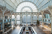 The Paul Hamlyn Hall at The Royal Opera House on the 4th December 2019 in London in the United Kingdom. The Paul Hamlyn Hall, previously known as the Floral Hall, was completed in 1860. The hall was originally used as a flower market during the day and transformed into an events venue in the evening.