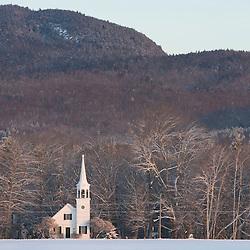The Wonalancet Union Chapel in Wonalancet, New Hampshire.  White Mountains.