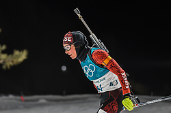 February 12, 2018 - Pyeongchang, Gangwon, South Korea - Selina Gasparin of Switzerland  competing at Women's 10km Pursuit, Biathlon, at olympics at Alpensia biathlon stadium, Pyeongchang, South Korea. on February 12, 2018. (Credit Image: © Ulrik Pedersen/NurPhoto via ZUMA Press)