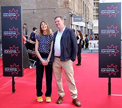 Edinburgh International Film Festival 2019<br /> <br /> Mrs Lowry And Son (World Premiere, closing night gala)<br /> <br /> Pictured: Kate Dickie and Kenny Christie<br /> <br /> Aimee Todd | Edinburgh Elite media