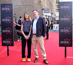 Edinburgh International Film Festival 2019<br /> <br /> Mrs Lowry And Son (World Premiere, closing night gala)<br /> <br /> Pictured: Kate Dickie and Kenny Christie<br /> <br /> Aimee Todd   Edinburgh Elite media