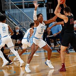 2020-12-12 NC Central Eagles at North Carolina Tar Heels basketball