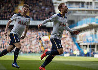 Football - 2016 / 2017 Premier League - Tottenham Hotspur vs. Southampton<br /> <br /> Christian Eriksen of Tottenham runs of in celebration followed by Ben Davies at White Hart Lane.<br /> <br /> Norway only