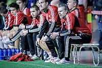 Treningskamp , <br /> Fotball , <br /> 30.01.2013 , <br /> Østfoldhallen , <br /> Sarpsborg 08 v Fredrikstad , <br /> FFK trener Lars Bakkerud , <br /> Foto: Thomas Andersen