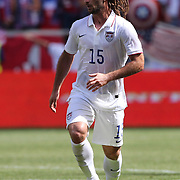Kyle Beckerman, USA, in action during the US Men's National Team Vs Turkey friendly match at Red Bull Arena.  The game was part of the USA teams three-game send-off series in preparation for the 2014 FIFA World Cup in Brazil. Red Bull Arena, Harrison, New Jersey. USA. 1st June 2014. Photo Tim Clayton