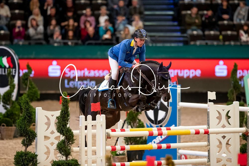 Ahlmann Christian, GER, Solid Gold Z<br /> Leipzig - Partner Pferd 2019<br /> © Hippo Foto - Stefan Lafrentz