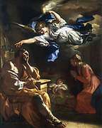 St Joseph's Dream.  Artist,  Francesco Solimena (1657-1757).