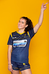 Cara Clarke of Worcester Warriors Women - Mandatory by-line: Robbie Stephenson/JMP - 27/10/2020 - RUGBY - Sixways Stadium - Worcester, England - Worcester Warriors Women Headshots