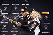 June 6, 2021. Lamborghini Super Trofeo, VIR: 23 Luke Berkeley, Dream Racing Motorsport, Lamborghini Broward, Lamborghini Huracan Super Trofeo EVO, DR23