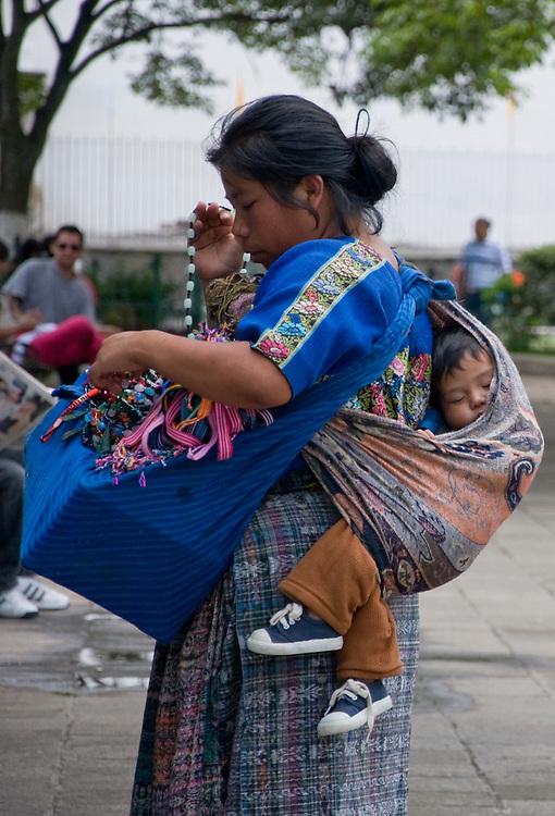 The market in Antigua, Guatemala, June 2009.  (Photo/William Byrne Drumm)