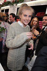 Heiress INDIA JAMES at the launch party for the Vicomte A boutique in London at 113 King's Road, London SW3 on 13th December 2012.