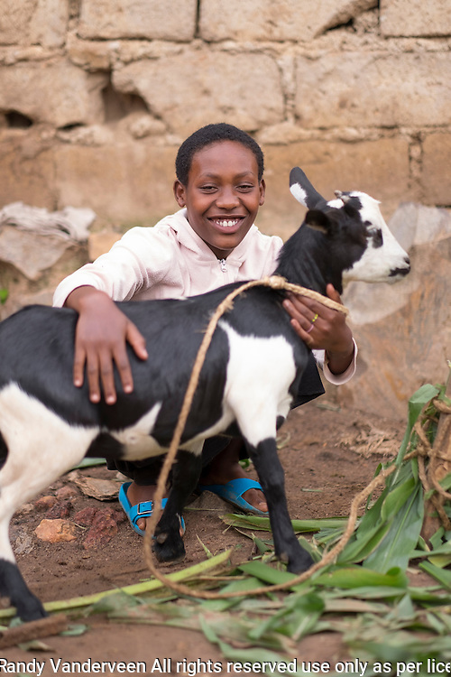 Photo Randy Vanderveen<br /> 2016-01-26<br /> Kigali, Rwanda<br /> Dusabimana Dada is in Primary 6. The young beneficiary of the Orphans and Vulnerable Children's project is doing very well and hopes to eventually become a doctor. She lives with grandmother since her mother has died.