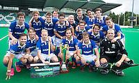 ROTTERDAM - HOCKEY - Het team van Kampong wint de cup. finale ABN AMRO cup hockey tussen de mannen van Oranje Zwart en Kampong . Kampong wint van de landskampioen met 5-1.  COPYRIGHT KOEN SUYK