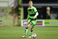 Forest Green Rovers Nathan McGinley(19) during the The FA Cup 1st round replay match between Forest Green Rovers and Oxford United at the New Lawn, Forest Green, United Kingdom on 20 November 2018.