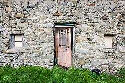 Irish houses, Dooagh Achill Island, County Mayo, Ireland
