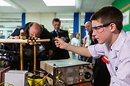 13-year-old Jamie Edwards has become the youngest person in the world to build a nuclear fusion reactor. Penwortham, Preston, Lancashire, England. 2014.