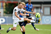 Fotball , 16. juni 2020 , Eliteserien  , Stabæk - Mjøndalen<br /> <br /> Tonny Brochmann , MIF<br /> Peder Vogt , Stabæk