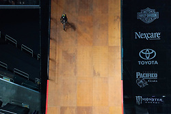 July 20, 2018 - Minneapolis, MN, USA - James Foster competed in The Real Cost BMX Big Air Final Friday. ] ANTHONY SOUFFLE • anthony.souffle@startribune.com ....Athletes competed in the annual XGames Friday, July 20, 2018 at U.S. Bank Stadium in Minneapolis. (Credit Image: © Anthony Souffle/Minneapolis Star Tribune via ZUMA Wire)