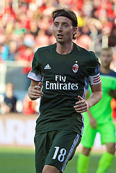 SANTA CLARA, USA - Saturday, July 30, 2016: AC Milan's captain Riccardo Montolivo in action against Liverpool during the International Champions Cup 2016 game on day ten of the club's USA Pre-season Tour at the Levi's Stadium. (Pic by David Rawcliffe/Propaganda)