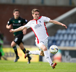 Falkirk's Luke Leahy.<br /> Raith Rovers 0 v 0 Falkirk, Scottish Championship game played 27/9/2014 at Raith Rovers Stark Park.