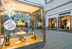 Mientus store on famous Kurfurstendamm shopping street in Berlin, Germany.