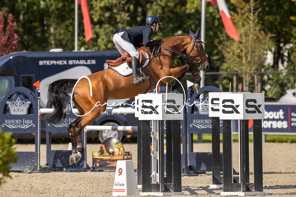 Huyvaert Thibaut, BEL, Babou de Laubry Z<br /> Belgian Championship 7 years old horses<br /> SenTower Park - Opglabbeek 2020<br /> © Hippo Foto - Dirk Caremans<br />  13/09/2020