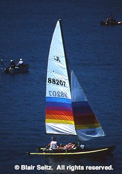 Sailing, Codorus State Park, York Co., PA