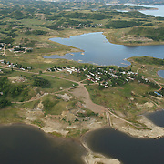 Charging Eagle Bay Public Use Area on the Little Missouri River, North Dakota.