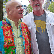 NLD/Amsterdam/20110731 - Premiere circus Hurricane met Hans Klok,