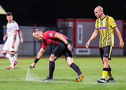 Referee Mihael Antic during football match between NK Radomlje and NK Maribor in 4th Round of Prva Liga Telemach 2021/22, on August 7, 2021 in Sportni park Domzale, Ljubljana, Slovenia. Photo by Nik Moder / Sportida