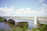 Bridge crossing the River Caroni on the Princess Margaret Highway, Trinidad 1963