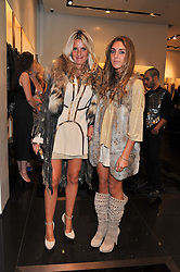 Left to right, ANNA SCOLARO and her daughter ALANNAH at a party hosted by Roberto Cavalli to celebrate his new Boutiques's opening at 22 Sloane Street, London followed by a party at Battersea Power Station, London SW8 on 17th September 2011.
