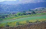 Countryside scenery near Scopello, Sicily, Italy