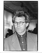 Eric Fischl. NY. 1990 approx. © Copyright Photograph by Dafydd Jones 66 Stockwell Park Rd. London SW9 0DA Tel 020 7733 0108 www.dafjones.com