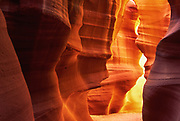 Entrance to Upper Antelope Canyon near Page, Arizona