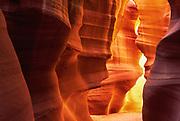 Entrance to Upper Antelope Canyon near Page, Arizona