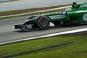March 29, 2014 - Sepang, Malaysia. Malaysian Formula One Grand Prix. Caterham F1 team<br /> <br /> © Jamey Price / James Moy Photography