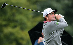 September 10, 2018 - Newtown Square, Pennsylvania, United States - Keegan Bradley tees off the 10th hole during the final round of the 2018 BMW Championship. (Credit Image: © Debby Wong/ZUMA Wire)