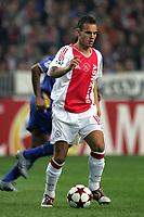 Amsterdam 15-09-04<br /> <br /> Champions League 2004-05<br /> <br /> Ajax-Juventus<br /> <br /> nella  foto Wesley Sneider Ajax<br /> <br /> Foto Snapshot / Graffiti