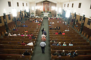 WEST, TEXAS - APRIL 17:  Visitors attend a service of remembrance for those killed in the  2013 fertilizer plant explosion in West, Texas on April 17, 2017. (Photo by Cooper Neill for The Washington Post)