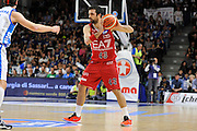 DESCRIZIONE : Beko Legabasket Serie A 2015- 2016 Dinamo Banco di Sardegna Sassari - Olimpia EA7 Emporio Armani Milano<br /> GIOCATORE : Krunoslav Simon<br /> CATEGORIA : Palleggio<br /> SQUADRA : Olimpia EA7 Emporio Armani Milano<br /> EVENTO : Beko Legabasket Serie A 2015-2016<br /> GARA : Dinamo Banco di Sardegna Sassari - Olimpia EA7 Emporio Armani Milano<br /> DATA : 04/05/2016<br /> SPORT : Pallacanestro <br /> AUTORE : Agenzia Ciamillo-Castoria/C.AtzoriCastoria/C.Atzori