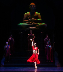 La Bayadere <br /> A ballet in three acts <br /> Choreography by Natalia Makarova <br /> After Marius Petipa <br /> The Royal Ballet <br /> At The Royal Opera House, Covent Garden, London, Great Britain <br /> General Rehearsal <br /> 30th October 2018 <br /> <br /> STRICT EMBARGO ON PICTURES UNTIL 2230HRS ON THURSDAY 1ST NOVEMBER 2018 <br /> <br /> <br /> <br /> <br /> <br /> Natalia Osipova as Gamzatti <br /> <br /> <br /> Photograph by Elliott Franks Royal Ballet's Live Cinema Season - La Bayadere is being screened in cinemas around the world on Tuesday 13th November 2018 <br /> --------------------------------------------------------------------
